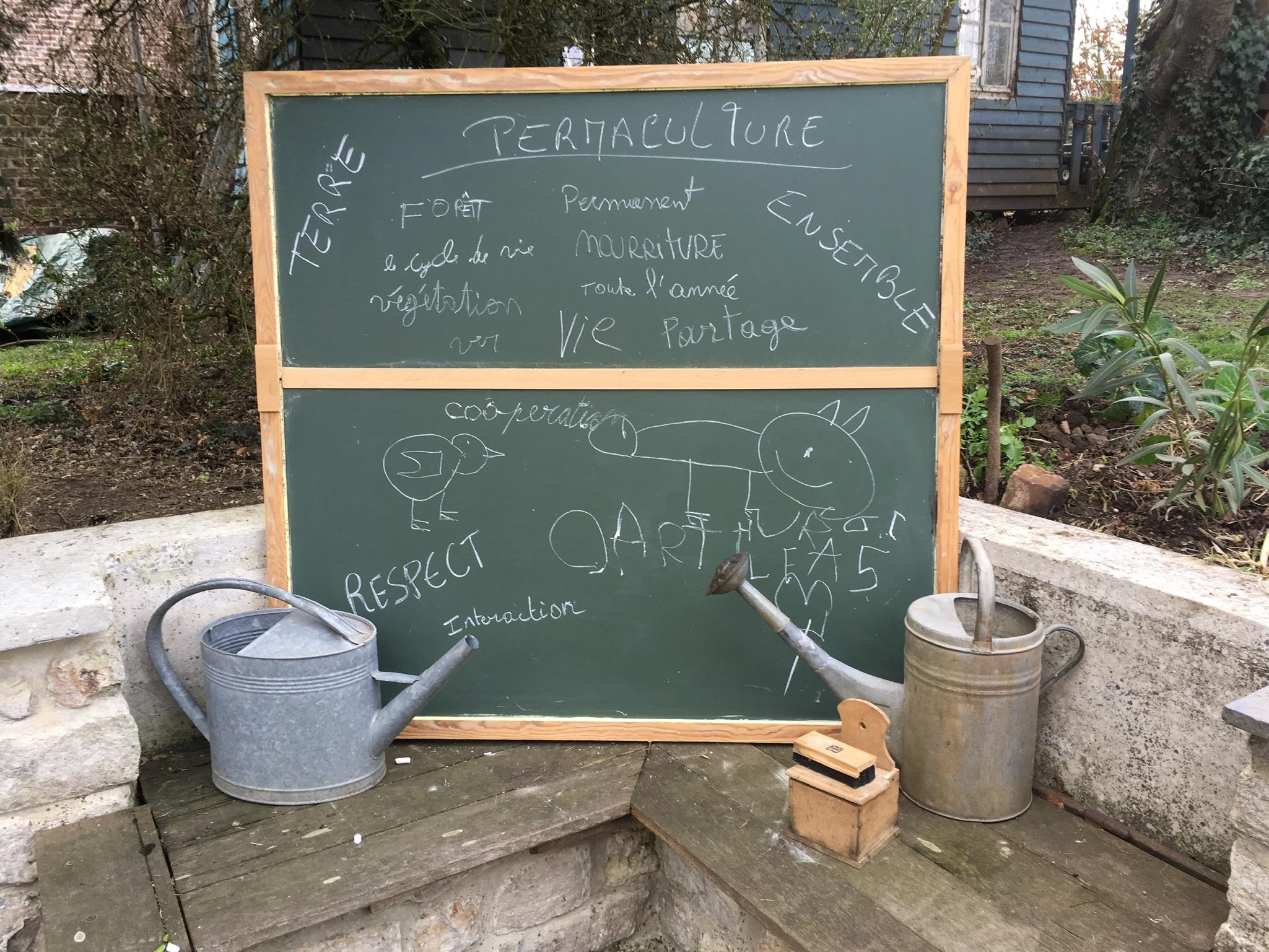 La permaculture un jeu d'enfants et de grands!